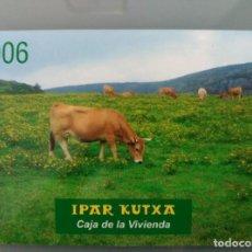 Coleccionismo Calendarios: CALENDARIO IPAR KUTXA 2006. Lote 63596124