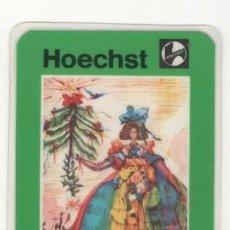 Collectionnisme Calendriers: (ALB-TC-4) CALENDARIO DE BOLSILLO HOECHST 1984 PLASTIFICADO. Lote 63966083
