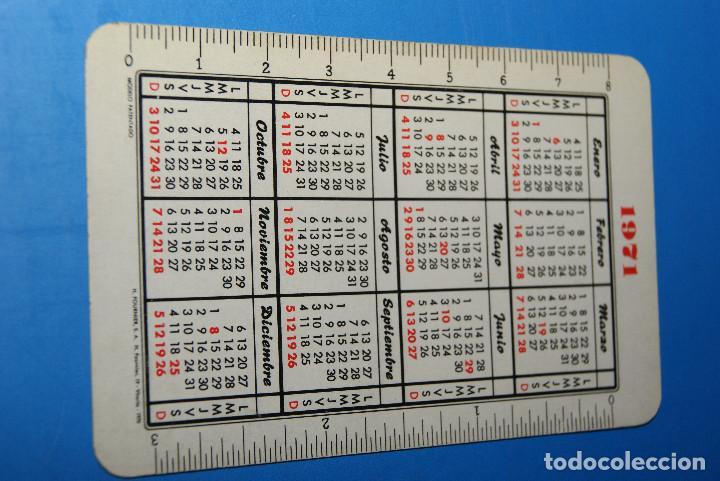 Coleccionismo Calendarios: Calendario fournier Banco Bilbao 1971 - Foto 2 - 64235083