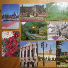 Coleccionismo Calendarios: 9 CALENDARIOS CIUDAD Y PAISAJES . Lote 64584351