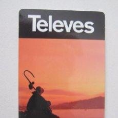 Coleccionismo Calendarios: CALENDARIO TELEVÉS 2010. Lote 119363210