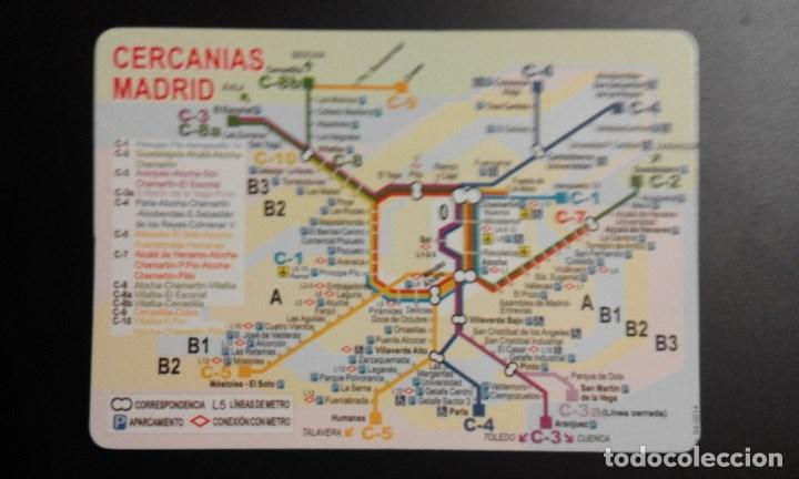 Mapa Cercanias Madrid 2017.1 Calendario Seriado De Plano Renfe Cercania Sold