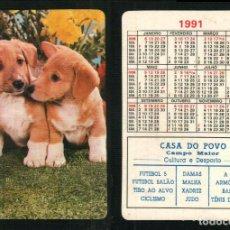 Coleccionismo Calendarios: CALENDARIO 1991 - EDITADO EN PORTUGAL - CASA DO POVO - CAMPO MAIOR. Lote 64901603