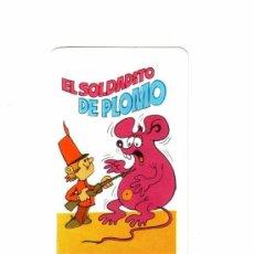 Coleccionismo Calendarios: -54775 CALENDARIO EL SOLDADITO DE PLOMO, AÑO 1977, NAIPES COMAS, SERIE CUENTOS INFANTILES. Lote 65697666