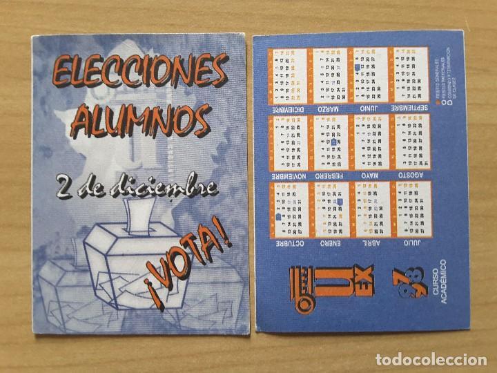 Calendario Uex.Calendario 1997 98 Uex Vendido En Venta Directa 65994170