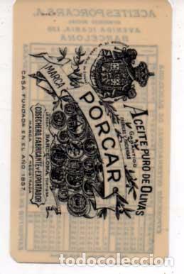 Calendario 1929.Calendario 1929 Casa Porcar Aceite Puro De Ol Sold At