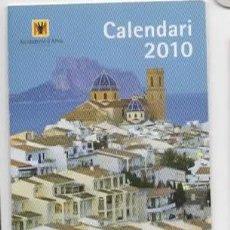 Coleccionismo Calendarios: CALENDARIO PUBLICITARIO 2010. Lote 67020138
