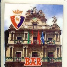 Coleccionismo Calendarios: CALENDARIO PUBLICITARIO - 2012 - BAR CIAURRIZ - PAMPLONA. Lote 113969007