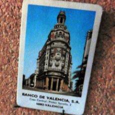 Coleccionismo Calendarios: CALENDARIO DE BOLSILLO - FOURNIER - AÑO 1985 - BANCO DE VALENCIA S.A.. Lote 68072345