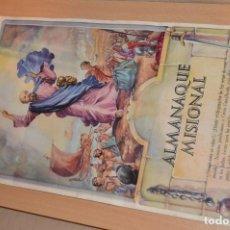 Coleccionismo Calendarios: ANTIGUO ALMANAQUE MISIONAL DE 1948 - MUY ANTIGUO Y COMPLETO - MIRA LAS FOTOS PARA MAS DETALLE. Lote 68337941