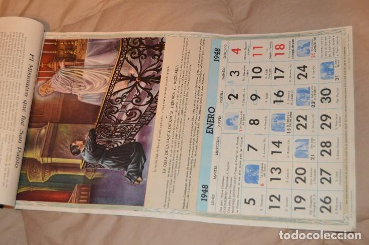 Coleccionismo Calendarios: ANTIGUO ALMANAQUE MISIONAL DE 1948 - MUY ANTIGUO Y COMPLETO - MIRA LAS FOTOS PARA MAS DETALLE - Foto 4 - 68337941