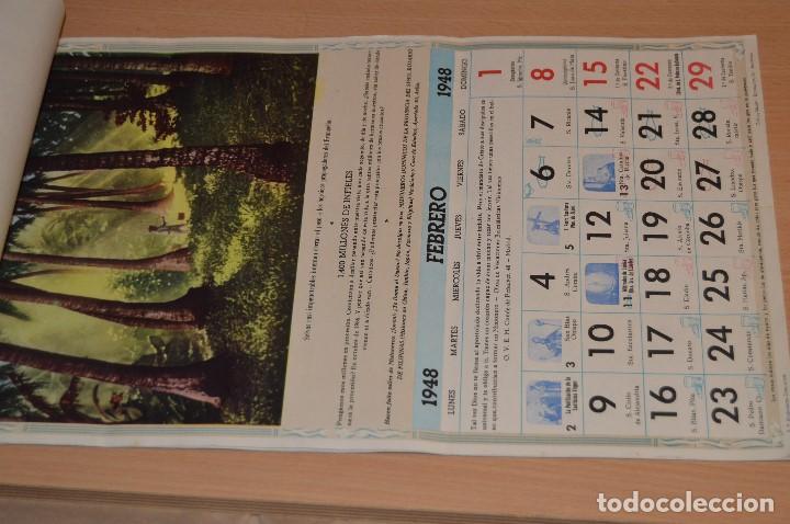 Coleccionismo Calendarios: ANTIGUO ALMANAQUE MISIONAL DE 1948 - MUY ANTIGUO Y COMPLETO - MIRA LAS FOTOS PARA MAS DETALLE - Foto 5 - 68337941