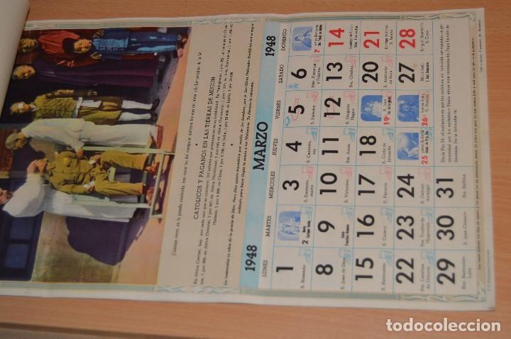 Coleccionismo Calendarios: ANTIGUO ALMANAQUE MISIONAL DE 1948 - MUY ANTIGUO Y COMPLETO - MIRA LAS FOTOS PARA MAS DETALLE - Foto 6 - 68337941