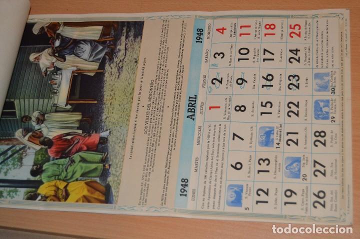 Coleccionismo Calendarios: ANTIGUO ALMANAQUE MISIONAL DE 1948 - MUY ANTIGUO Y COMPLETO - MIRA LAS FOTOS PARA MAS DETALLE - Foto 7 - 68337941