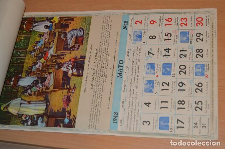 Coleccionismo Calendarios: ANTIGUO ALMANAQUE MISIONAL DE 1948 - MUY ANTIGUO Y COMPLETO - MIRA LAS FOTOS PARA MAS DETALLE - Foto 8 - 68337941