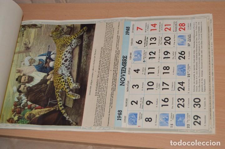 Coleccionismo Calendarios: ANTIGUO ALMANAQUE MISIONAL DE 1948 - MUY ANTIGUO Y COMPLETO - MIRA LAS FOTOS PARA MAS DETALLE - Foto 14 - 68337941
