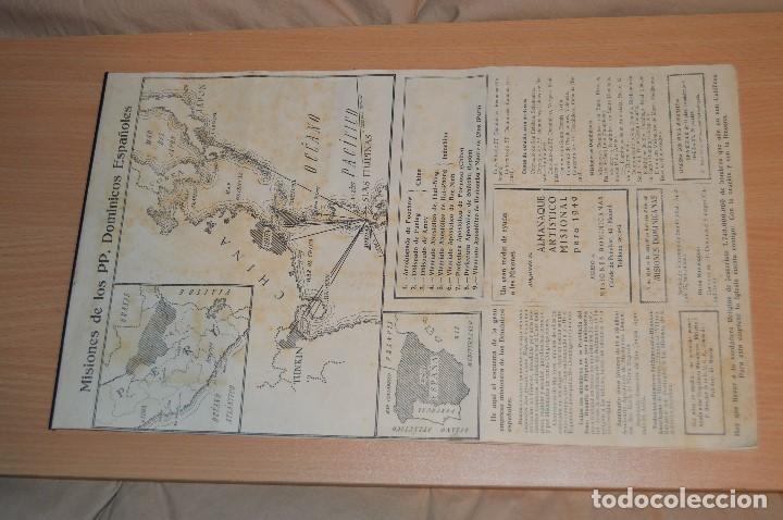 Coleccionismo Calendarios: ANTIGUO ALMANAQUE MISIONAL DE 1948 - MUY ANTIGUO Y COMPLETO - MIRA LAS FOTOS PARA MAS DETALLE - Foto 16 - 68337941