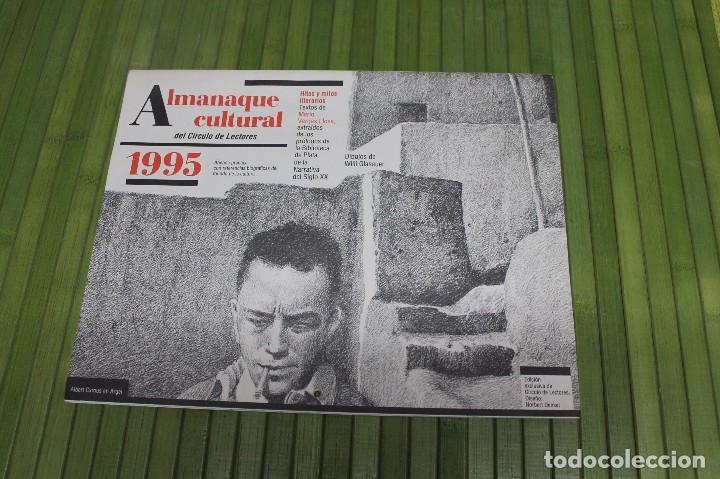 ALMANAQUE CULTURAL 1995 CIRCULO DE LECTORES (Coleccionismo - Calendarios)