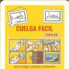 Coleccionismo Calendarios: CALENDARIO FOURNIER - COLIS - 2012. Lote 68741829
