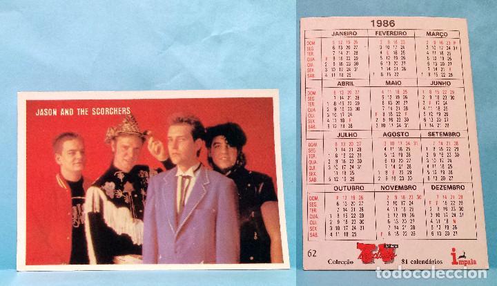 Calendario 216.Calendario 1986 Editado En Portugal Jason And The Scorchers