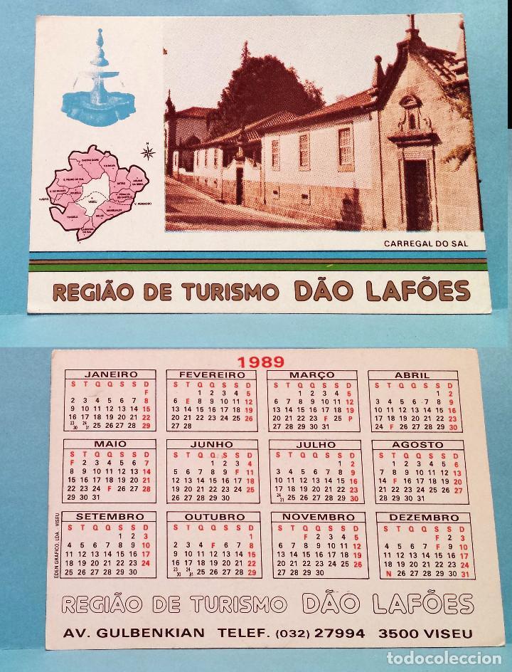 Calendario F2.Calendario 1989 Editado En Portugal Regiao De Turismo Dao Lafoes