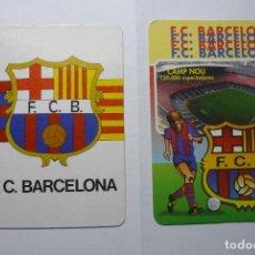 Coleccionismo Calendarios: LOTE CALENDARIOS FUTBOL F.C.BARCELONA -1985 -1998. Lote 69633477