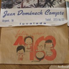 Coleccionismo Calendarios: LOTE 5 CALENDARIOS ANTIGUOS. Lote 70124781