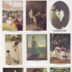 Serie completa de Julio Romero de Torres 50 calendarios nuevos y numerados 2011