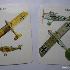 Coleccionismo Calendarios: LOTE CALENDARIOS EXTRANJEROS AVIONES ALEMANES 1986. Lote 70984593