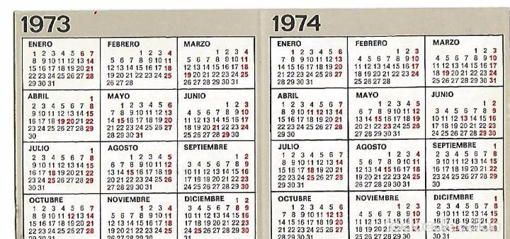 Calendario 1974.Calendario Agroman Anos 1973 Y 1974 Sold Through Direct