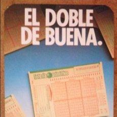 Coleccionismo Calendarios: CALENDARIO LOTERÍA PRIMITIVA 1988. Lote 71082769