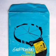 Coleccionismo Calendarios: ANTIGUO CALENDARIO PARA CORREA DE RELOJ 1984. Lote 71173121