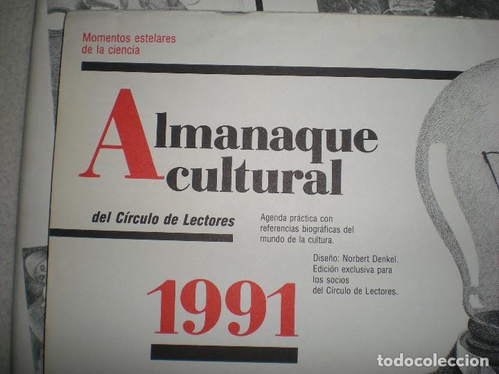 Coleccionismo Calendarios: calendario o almanaque cultural 1991 ilustrado por willi glasauer y carlos garcia gual fotos abajo - Foto 3 - 71816255
