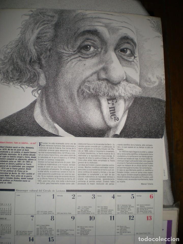 Coleccionismo Calendarios: calendario o almanaque cultural 1991 ilustrado por willi glasauer y carlos garcia gual fotos abajo - Foto 4 - 71816255