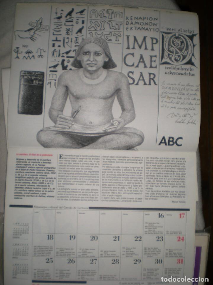 Coleccionismo Calendarios: calendario o almanaque cultural 1991 ilustrado por willi glasauer y carlos garcia gual fotos abajo - Foto 5 - 71816255