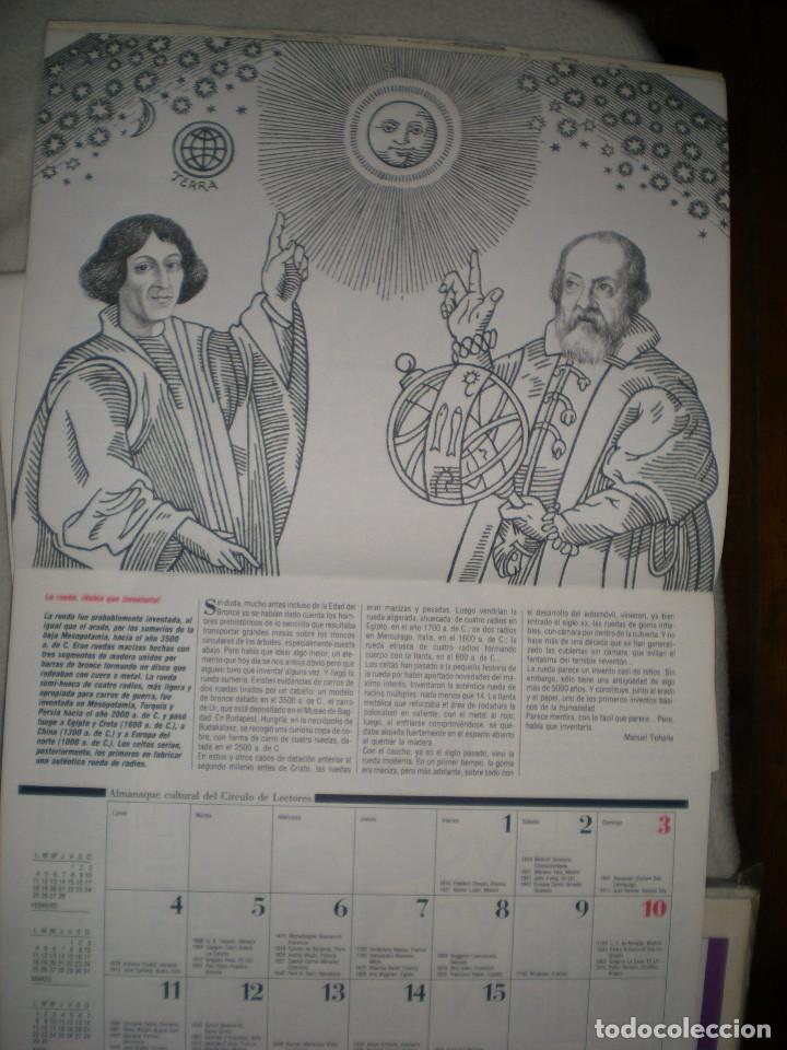 Coleccionismo Calendarios: calendario o almanaque cultural 1991 ilustrado por willi glasauer y carlos garcia gual fotos abajo - Foto 6 - 71816255