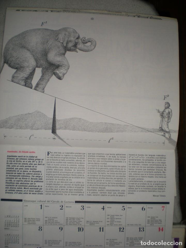 Coleccionismo Calendarios: calendario o almanaque cultural 1991 ilustrado por willi glasauer y carlos garcia gual fotos abajo - Foto 7 - 71816255