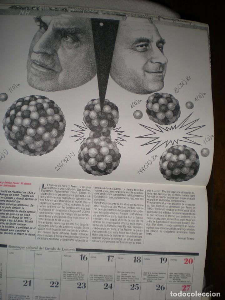 Coleccionismo Calendarios: calendario o almanaque cultural 1991 ilustrado por willi glasauer y carlos garcia gual fotos abajo - Foto 8 - 71816255