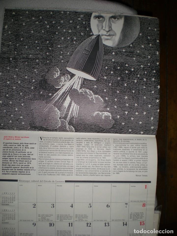 Coleccionismo Calendarios: calendario o almanaque cultural 1991 ilustrado por willi glasauer y carlos garcia gual fotos abajo - Foto 9 - 71816255