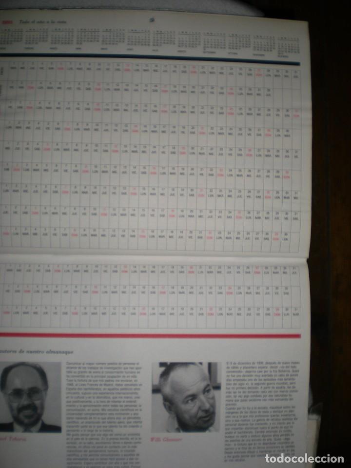 Coleccionismo Calendarios: calendario o almanaque cultural 1991 ilustrado por willi glasauer y carlos garcia gual fotos abajo - Foto 10 - 71816255