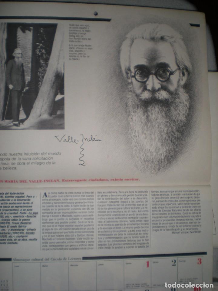 Coleccionismo Calendarios: calendario o almanaque cultural 1988 ilustrado por willi glasauer y carlos garcia gual fotos abajo - Foto 4 - 71817243
