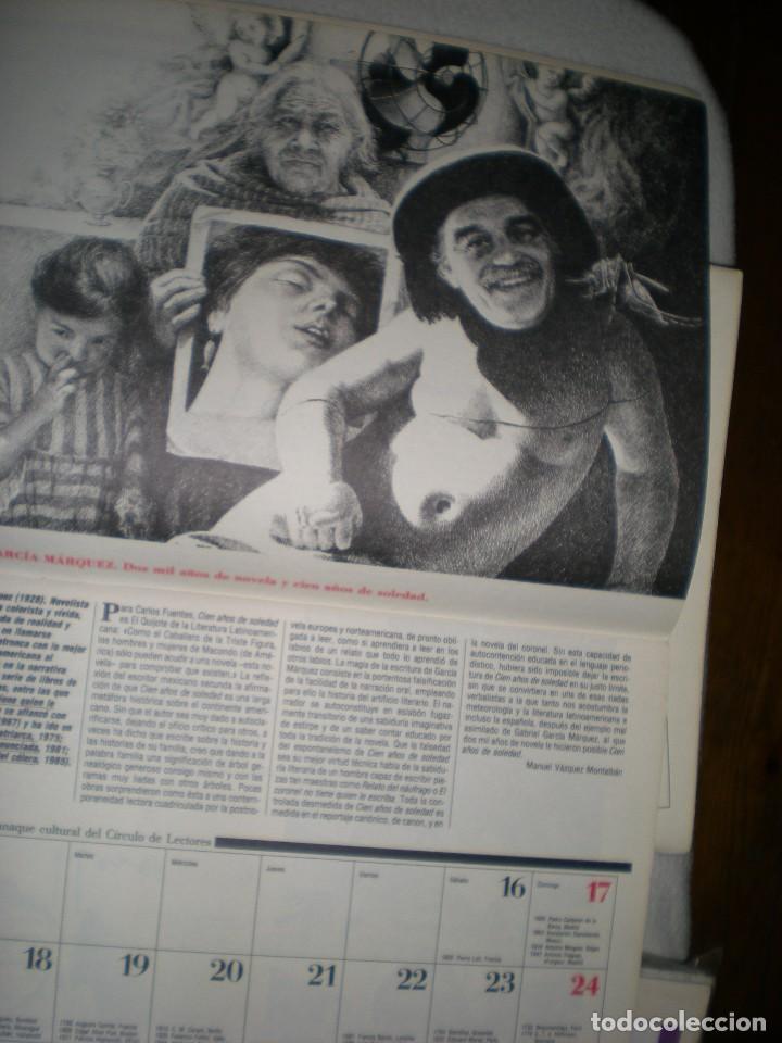 Coleccionismo Calendarios: calendario o almanaque cultural 1988 ilustrado por willi glasauer y carlos garcia gual fotos abajo - Foto 5 - 71817243