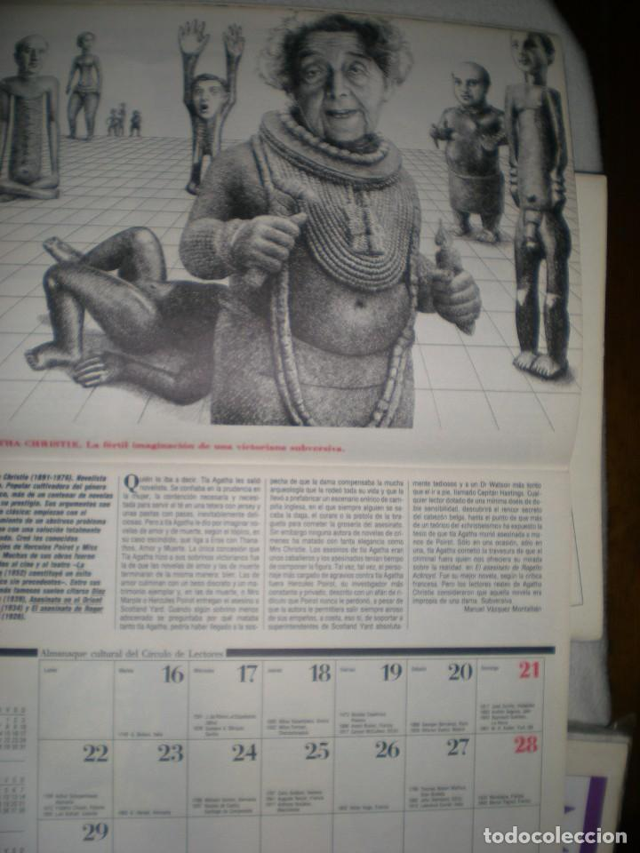 Coleccionismo Calendarios: calendario o almanaque cultural 1988 ilustrado por willi glasauer y carlos garcia gual fotos abajo - Foto 6 - 71817243