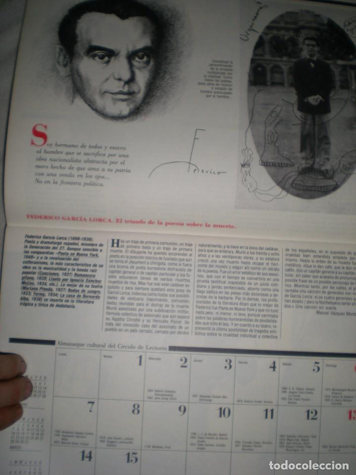 Coleccionismo Calendarios: calendario o almanaque cultural 1988 ilustrado por willi glasauer y carlos garcia gual fotos abajo - Foto 7 - 71817243