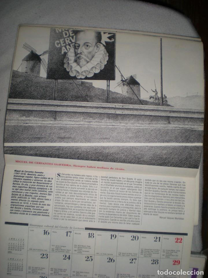 Coleccionismo Calendarios: calendario o almanaque cultural 1988 ilustrado por willi glasauer y carlos garcia gual fotos abajo - Foto 8 - 71817243