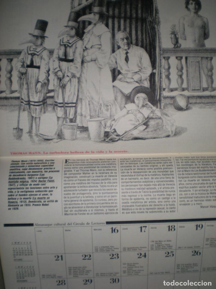 Coleccionismo Calendarios: calendario o almanaque cultural 1988 ilustrado por willi glasauer y carlos garcia gual fotos abajo - Foto 9 - 71817243