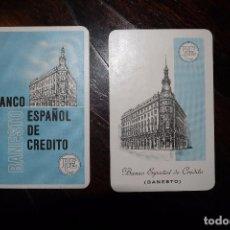 Coleccionismo Calendarios: 2 CALENDARIOS FOURNIER BANCO BANESTO 1968 1968. Lote 72174327