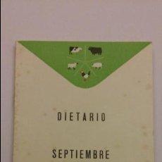 Coleccionismo Calendarios: CALENDARIO DIETARIO DE LABORATORIOS REUNIDOS 1964 MAS DE 60 PAGINAS CON PUBLICIDAD. Lote 72363631