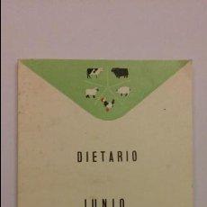 Coleccionismo Calendarios: CALENDARIO DIETARIO DE LABORATORIOS REUNIDOS 1965 MAS DE 60 PAGINAS CON PUBLICIDAD. Lote 72363967