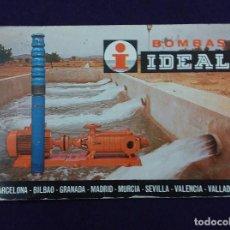 Coleccionismo Calendarios: CALENDARIO FOURNIER. BOMBAS IDEAL.1985. Lote 72380227